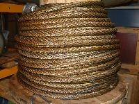 Wire ropes, 24 - 32 - 34 - 36 - 38 - 42 - 48 - 57 mm, misc length - New - UL05032 - Quipbase.com - DSCF0005.JPG