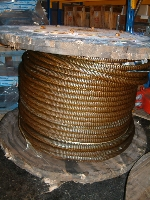 Wire ropes, 24 - 32 - 34 - 36 - 38 - 42 - 48 - 57 mm, misc length - New - UL05032 - Quipbase.com - DSCF0010.JPG
