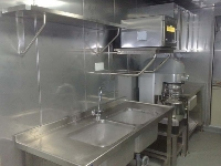 Stainless steel wall and ceiling panels throughout.jpg