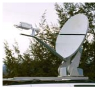 Satellite Communication System, TracSat, Antenna dish - 96 cm - UL06007 - Quipbase.com - Antenna-1.jpg
