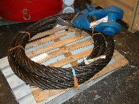 Wire ropes, 24 - 32 - 34 - 36 - 38 - 42 - 48 - 57 mm, misc length - New - UL05032 - Quipbase.com - DSCF0021.JPG