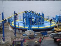 Carousel, Cable Turntable, 500 Te SWL with product - UL05565 - Quipbase.com - UL05565_09_Carousel-spooling_ongoing_02.jpg