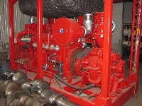 Pump, fire fighting set, diesel drive, 1200 m3/ht - UL05557 - Quipbase.com - IMG_4830.JPG